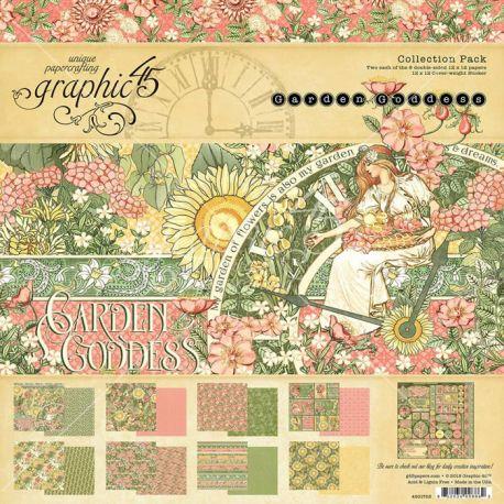 Graphic 45 Garden Goddess Scrapbooking Collection Pack