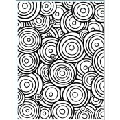 Darice Embossing Folder Multi Circles