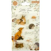 Craft Consortium | Set de sellos acrílicos Little Fawn & Friends - Best Friends