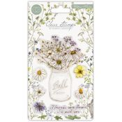 Craft Consortium | Set de sellos acrílicos Wildflower Meadow - Fresh Cut