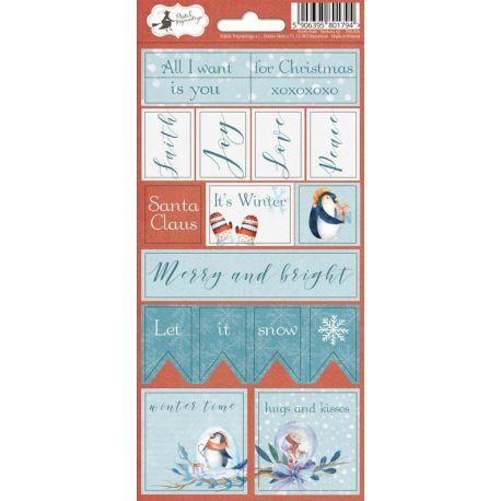 Piatek Trzynastego - North Pole. Pegatinas (P13-194)