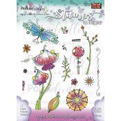 Polkadoodles - Sellos transparentes Delicate Doodles