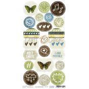 Craft O'Clock And Remember - Troquelados de cartulina