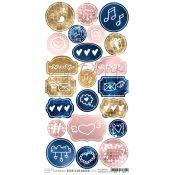 Craft O'Clock Bold & Glamour - Troquelados de cartulina