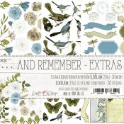 Craft O'Clock And Remember - Adornos Extras para recortar
