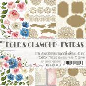 Craft O'Clock Bold & Glamour - Adornos Extras para recortar