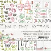 Craft O'Clock Felici Tea - Adornos Extras para recortar