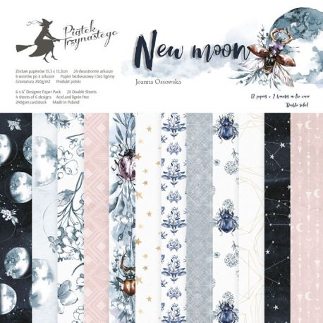 Piatek Trzynastego - New Moon. Paper Pad 15x15 (P13-359)