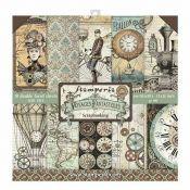 Stamperia Papeles estampados para scrapbooking colección Voyages Fantastiques Maxi Pack (SBBXL01)
