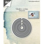 Troquel Joy Crafts Slider Círculos (6002/1238)