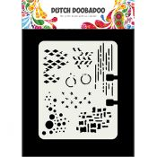 Plantilla para estarcido Rolodex - Dutch Doobadoo