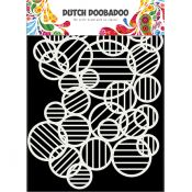 Plantilla para estarcido Circle Lines - Dutch Doobadoo