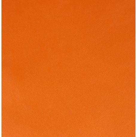 Artemio - Lámina imitación cuero color Naranja Cobrizo