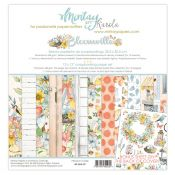 Mintay Papers - Bloomville Scrapbooking Paper Pad 30x30 | CreActividades
