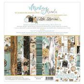 Mintay Papers - Life Stories Scrapbooking Paper Pad 30x30 | CreActividades