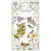 Craft Consortium | Set de sellos acrílicos Wildflower Meadow - Flowers