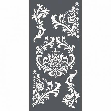 Stamperia - Stencil decorativo en acetato Arabescos 1 (KSTDL19)
