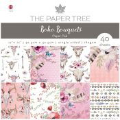 The Paper Tree - Boho Bouquets Paper Pad (PTC1018)