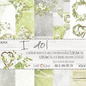 Craft O'Clock - Papel para scrapbooking I Do! Set de 15x15