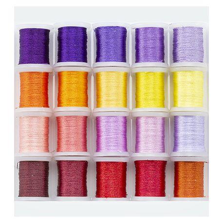 Nellie's Choice - Set de hilos para bordar en tonos florales
