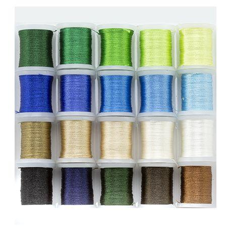 Nellie's Choice - Set de hilos para bordar en tonos tierra, verde y azul