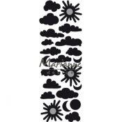 Troquel metálico corte Craftables Marianne Design - El tiempo (CR1459)