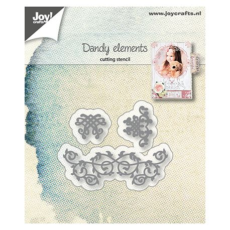 Joy Crafts Troquel Joy Crafts Florituras (6002/1225)