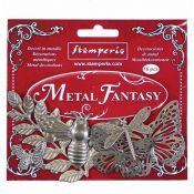 Stamperia Metal Fantasy Fantasy Nature (SBA383 )