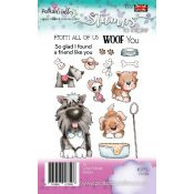 Polkadoodles - Sellos transparentes Woof You