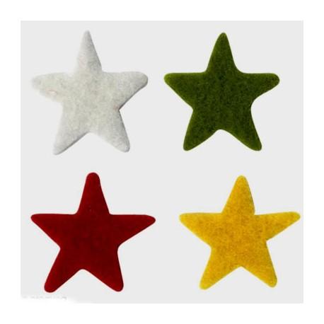 Fieltro Estrellas Navidad
