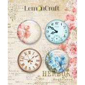 LemonCraft - Set de chapas adhesivas Chapas Sense and Sensibility (LD-SENS01)