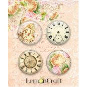 LemonCraft - Set de chapas adhesivas Chapas Chapas Grow Old with Me (LD-SENS01)