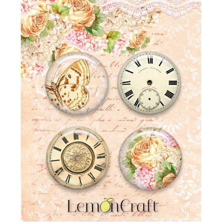 LemonCraft - Set de chapas adhesivas Chapas Chapas Grow Old with Me (LD-SENS01)