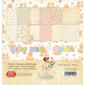 Craft & You New Baby Born Set para scrapbooking 30x30