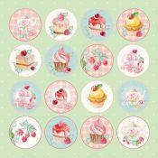Craft & You - Hoja de recortables Sweet Dessert (CP-SD07)