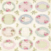 Craft & You - Hoja de recortables Bellissima Rosa (CP-BR07)