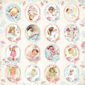 Craft & You - Hoja de recortables Shabby Baby (CP-SB07)