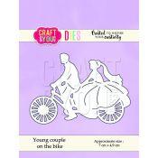 Craft & You - Troquel Novios en Bici