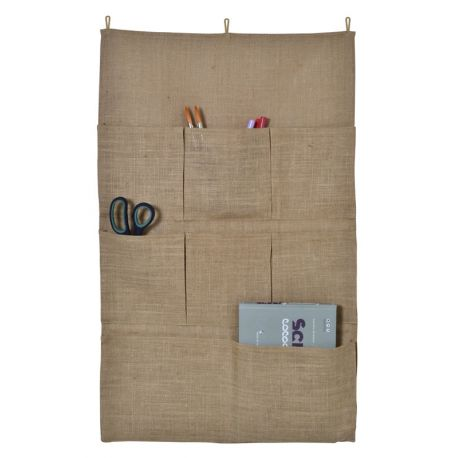 Artemio – Organizador de pared con compartimentos en yute (13002106)