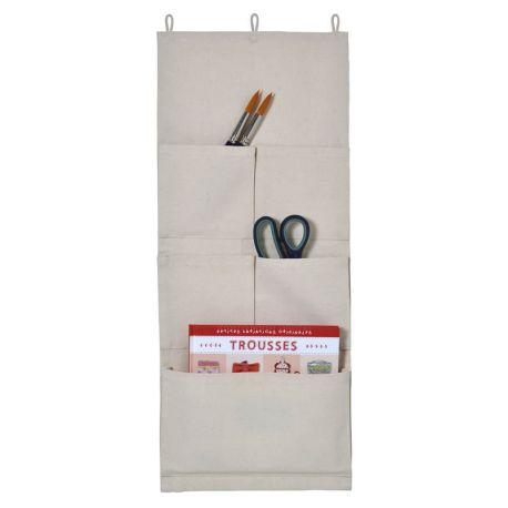 Artemio – Organizador de pared con compartimentos en lona (13002105)