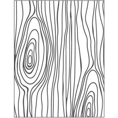 Dp Craft Embossing Folder - Madera