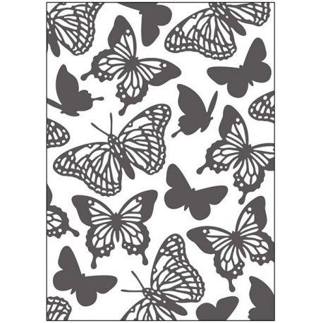 Dp Craft Embossing Folder - Mariposas