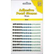 Nellie Snellen – Perlas adhesivas tonos azules para scrapbooking