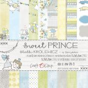 Craft O'Clock - Papel para scrapbooking Sweet Prince de 15x15
