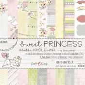 Craft O'Clock - Papel para scrapbooking Sweet Princess de 15x15