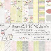 Craft O'Clock - Papel para scrapbooking Sweet Princess de 15x15
