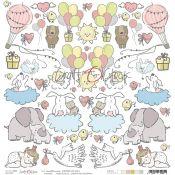 Craft O'Clock Sweet Princess - Hoja de recortables 1