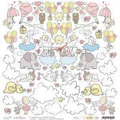 Craft O'Clock Sweet Princess - Hoja de recortables 2