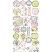 Craft O'Clock Sweet Princess - Troquelados de cartulina