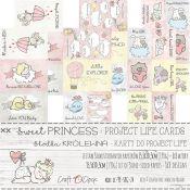 Craft O'Clock Sweet Princess – Tarjetas Project Life